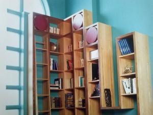 Ameublement intégré salle familiale. Photo gracieuseté Les intérieurs Jean Carsley. Concept Robert Bisson