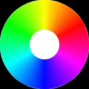 Spectre de couleur RGB