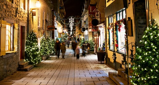 La magie de Noël dans certaines villes du monde