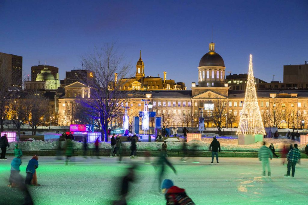 Patinoire Bonsecours, Montréal, Source: The Canadian Encyclopedia